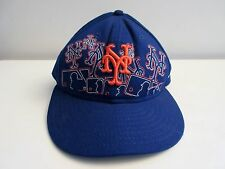 NEW ERA NEW YORK METS Fitted Hat Cap 59 FIFTY MLB AUTHENTIC Size 7 1  8d119a470947
