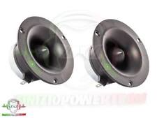COPPIA Tweeter IPNOSIS Super Bullet audio sp l compressione + condensatori tec