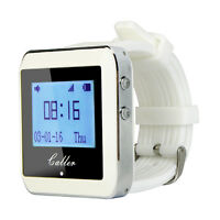 Wireless Watch Calling Receiver Call Pager System for Hospital Waiter 433MHz