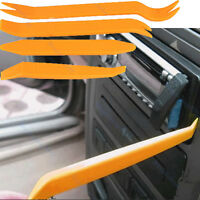 4 pcs Car Auto Door Trim Panel Dash Stereo Radio Audio Removal Pry Tools Kit Set