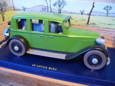 Voitures miniatures verts tintin