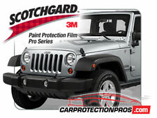 2018-2019 Jeep Wrangler Sport 3M Pro Series Clear Deluxe Paint Protection Kit