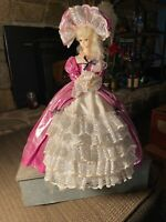 "Vintage Doll, Victorian Lady, Spinning/Turning Music Box, Song: ""Lullaby, Go To"""