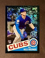 2020 Topps Chrome Silver Pack Nico Hoerner RC Rookie Black Refractor /199