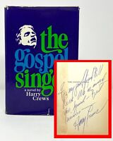 Harry Crews - The Gospel Singer - SIGNED 1st 1st - Author's 1st Book 1968