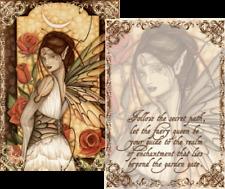 Jessica Galbreth *Gypsy Rose* Fairy Mini Art Print Poem (5x7)