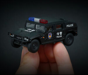 X CAR TOY 1/64 China DONGFENG Warriors Car SWAT Finished Product #85