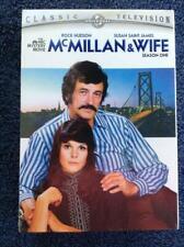 McMILLAN & WIFE - SEASON ONE DVD SET - BRAND NEW & FACTORY SEALED