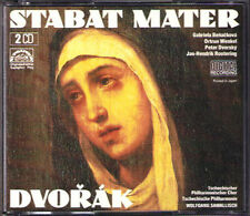 Wolfgang SAWALLISCH: DVORAK Stabat Mater BENACKOVA DVORSKY ROOTERING 2CD