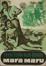MARA MARU 1952 ERROL FLYNN French PRESS BOOK