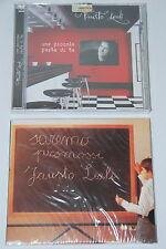 2 CD MUSICA- FAUSTO LEALI -SAREMO PROMOSSI, UNA PICCOLA PARTE DI TE- nuovi, siae