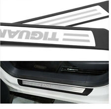 Stainless Door sill scuff plate For vw Tiguan 2009 2010 2011 2012 2013 2014 2015