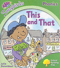 Oxford Reading Tree: Stage 2: Songbirds: This and That (Ort Songbirds Phonics St