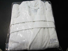 FRETTE XXXXL Shawl Collar White Terry Bathrobe w/Belt & Slippers! Get Yours Now!