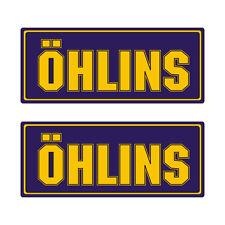 Stickers plastifiés OHLINS ÖHLINS - 12cm x 5cm