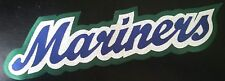 "HUGE SEATTLE MARINERS IRON-ON PATCH - 3"" x 11.5"""