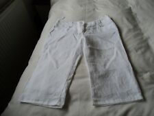 LADIES CROPPED TROUSERS BY PER UNA SIZE 18