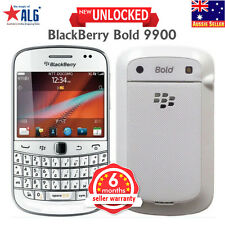 New BlackBerry Bold 9900 Unlocked Qwerty Phone White