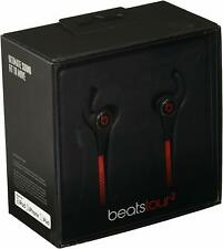 Authentic Beats by Dr. Dre Tour2 Active In-Ear Headphones with Mic Black Red