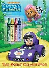 USED (GD) The Great Crayon Race (Bubble Guppies) (Color Plus Chunky Crayons)