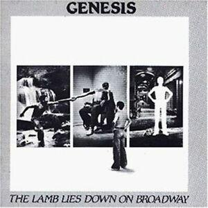 GENESIS --- THE LAMB LIES DOWN ON BROADWAY (Doppel CD)