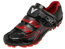 Scarpe bici MTB Vittoria Falcon rosse mountain bike shoes 36-46 made in Italy