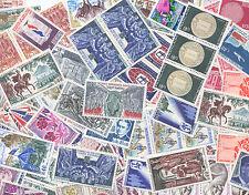 FRANCE SUPER LOT A3: 100 timbres des années 1960 et 1970, Neufs sans charnière