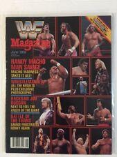 WWF Magazine 1988 June Randy Macho Man Savage WrestleMania IV Jim Duggan WWE