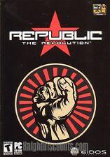 REPUBLIC THE REVOLUTION Stategy PC Game XP NEW in BOX