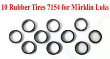 NEW Rubber Tires Pk/10 7154 for Märklin HO D10mm D12mm D13mm Wheels