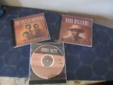 Time Life Legendary Country Singers lot of 3 CDs Statler Conway Twitty Williams