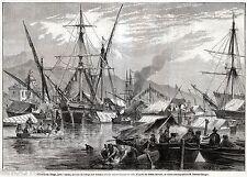 MESSINA: Flottiglia di Ringo,rifugio x donne e bambini.Sicilia.Risorgimento.1860
