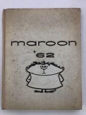 Menominee High School Michigan Year Book 1962 Maroon