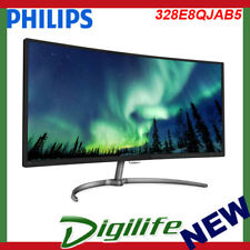 """PHILIPS 328E8QJAB5 31.5"""" curved LED monitor with FreeSync FHD 1920x1080"""
