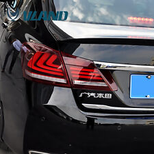 TAIL LIGHTS 4 DOOR SEDAN LED FOR 2013 2014 2015 HONDA ACCORD SPORT EX LX EX-L
