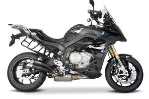 Cobra Auspuff Hypershots ULTRASHORT mattblack mit EG-ABE BMW S 1000 XR EURO4