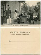 FRENCH INDOCHINA TEA SELLER PPC c1910