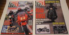 MCI 11/93 MZ Silver Star Honda CB500 Harley-Davidson FXSTS KTM Duke BMW R1100RS