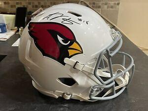 AJ Green Autographed Authentic Arizona Cardinals Speed Helmet Radtke COA