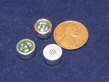 3 Primo EM-100H Electret Microphones 6V 44dB Omni Directional 10mm DC Spy Mic E