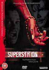 SUPERSTITION DVD James Houghton James W. Roberson Original UK Release New R2
