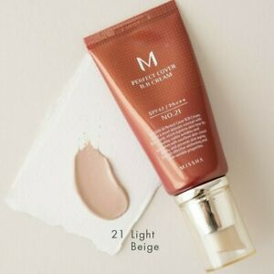 MISSHA M Perfect Cover BB Cream SPF42/PA+++ No. 21 Light Beige 50ml/1,7 fl.oz UK