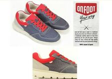 Mens ultra light comfort leather sneaker shoes On Foot Made in Spain 3501