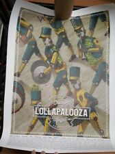 Lollapalooza Poster 2017 Perry Farrell