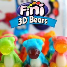 3D Teddy Bears Gummy Fruity Retro Party Sweets Candy WHOLESALE 3D BEARS 1KG
