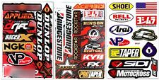 Metal Mulisha Rockstar Energy Sticker Motocross Graphic Kit Logo ATV MTB BMX Lot