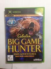 Cabela's Big Game Hunter 2005 Adventure - Microsoft Xbox