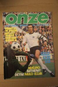 /! Attention Collector /! FOOTBALL ONZE n° 7 Juin 1976 la grande époque!