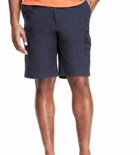 "MEN`S NEW ANGELO LITRICO CARGO COMBAT SHORTS 30"" WAIST NAVY BLUE"