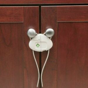 Safety 1st Push N Snap Cabinet Safety Lock (2 Pack)